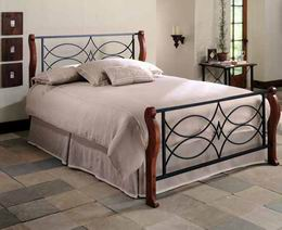 Kovová postel Viola 180x200