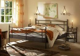 Kovová postel Darja 180x220