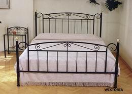 Kovová postel Viktorie 180x210