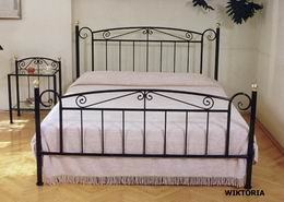 Kovová postel Viktorie 180x220
