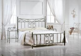 Kovová postel Alexandra 180x200