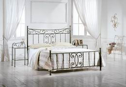 Kovová postel Alexandra 180x210