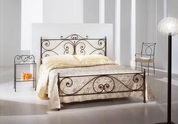Kovová postel Emílie 180x200