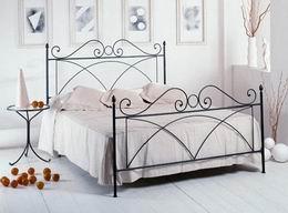 Kovová postel Alice 180x200