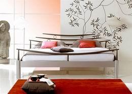 Kovová postel Shangai 140x220