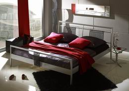 Kovová postel Tek-1 140x220