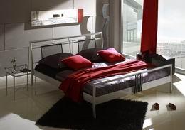 Kovová postel Tek-2 140x220 - DOPRAVA ZDARMA