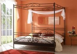 Kovová postel Angelique 180x200