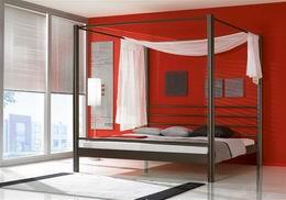 Kovová postel Lara 180x220