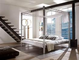 Kovová postel Matrix 180x220