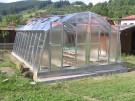 Pozinkovaný skleník M 4,5 - doprava zdarma