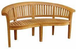 Zahradní teaková lavice Fabio