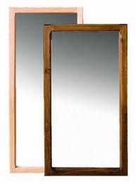 Døevìné zrcadlo 120x50