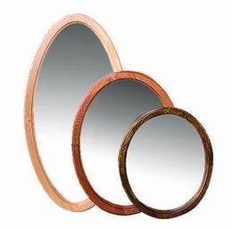Døevìné zrcadlo 60x50