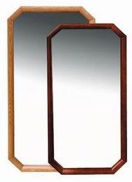 Zrcadlo døevìný rám 90x45