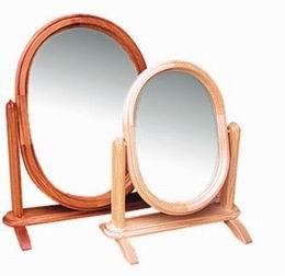Zrcadlo v døevìném rámu 40x30