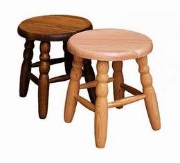 Døevìná stolièka kulatá