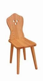 Selská židle - borovice