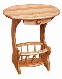 Døevìný stolek na noviny - 34