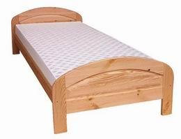 Døevìná postel Jakub 90x200