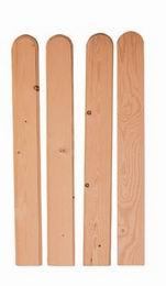 Døevìná plotovka è.21 výška 1m