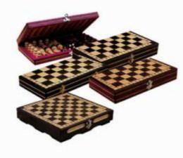 Døevìné šachy malé