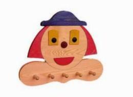Dìtský vìšák klaun