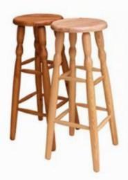 Døevìná barová židle 3 80cm