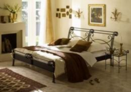 Kovová postel Bella Grande 180x200