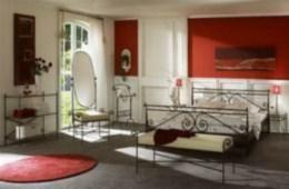 Kovová postel Arabela 200x200