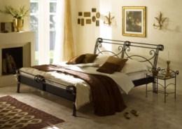 Kovová postel Bella Grande 200x200