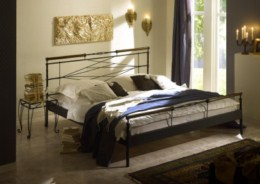 Kovová postel Kelly 90x200