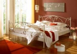 Kovová postel Wenezie 90x200