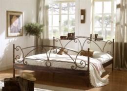Kovová postel Wenezie II 90x200 - DOPRAVA ZDARMA