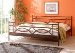 Kovová postel Toscana 90x200