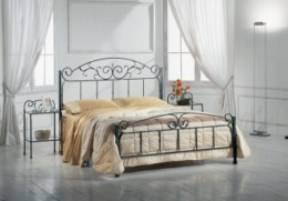 Kovová postel Judita 90x200