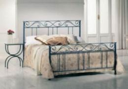 Kovová postel Ester 90x200