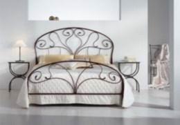 Kovová postel Klaudie 90x200