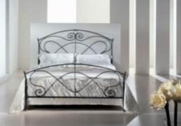 Kovová postel Hermína 90x200