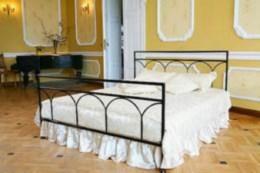Kovová postel Saskie 90x200 - DOPRAVA ZDARMA