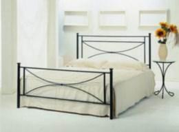 Kovová postel Stela 90x200