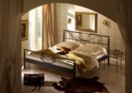 Kovová postel Verde 90x200