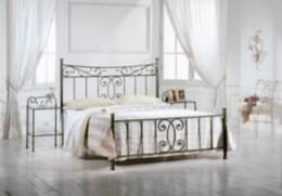 Kovová postel Alexandra 90x200
