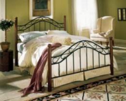 Kovová postel Lýdie 90x200