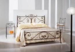 Kovová postel Emílie 90x200