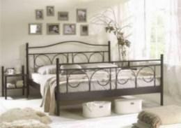 Kovová postel Ines 90x200