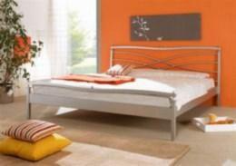 Kovová postel Angeletta II 90x200