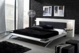 Kovová postel King kùže 90x200