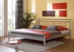 Kovová postel Luna 90x200