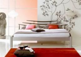 Kovová postel Nanjing 90x200
